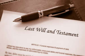Copy Of Last Will And Testament